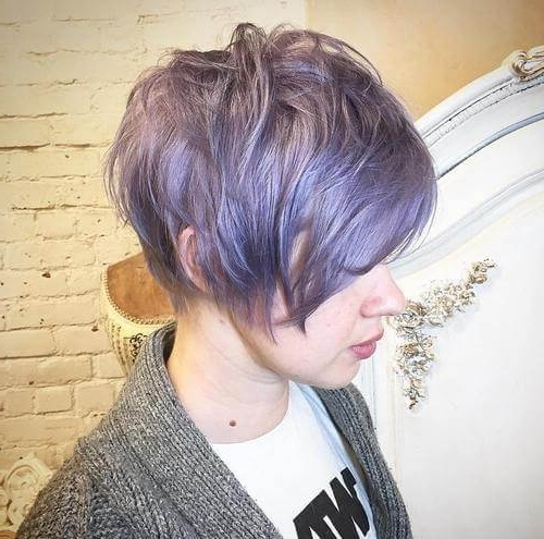 Hairstyle: Glorious Short Pixie Haircuts Pixie Haircuts For Fine In Most Current Ash Blonde Pixie Hairstyles With Nape Undercut (View 18 of 25)