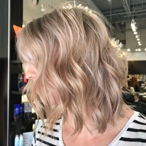Hairstyle: Magnificent Short Wavy Haircuts Ide ~ Hotelaltosegre Throughout Fresh And Flirty Layered Blonde Hairstyles (View 23 of 25)