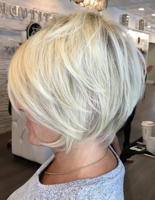 Hairstyle: Shocking Short Hairstyles For Over 50 Gallery Short Pixie Intended For Most Recent Gray Blonde Pixie Hairstyles (View 11 of 25)