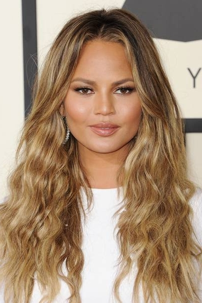 Hairstyles 2018: Hair Ideas, Cut And Colour Inspiration | Glamour Uk With Big And Bouncy Half Ponytail Hairstyles (View 23 of 25)