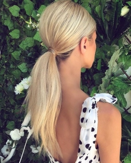 Hairstyles For Long Thin Hair That'll Stop You Hating On Your Hair Intended For Ponytail Hairstyles For Fine Hair (View 24 of 25)