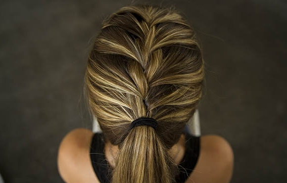 Hairstyles For Runners | Active Throughout Perfectly Undone Half Braid Ponytail (View 14 of 25)