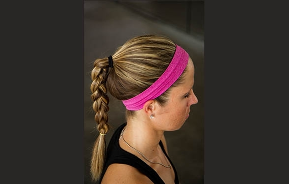 Hairstyles For Runners | Active With Regard To Brunette Ponytail Hairstyles With Braided Bangs (View 21 of 25)