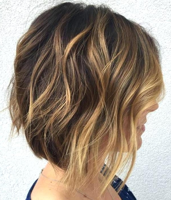 Hairstyles Highlights Beautiful And Convenient Medium Bob Hairstyles Within Long Bob Blonde Hairstyles With Lowlights (View 22 of 25)