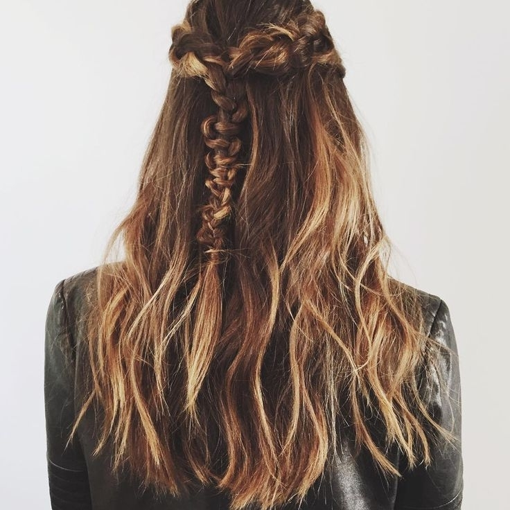 Hairstyles Ideas : Macrame Braid On My Boo Geri Hirsch – Styles (View 20 of 25)