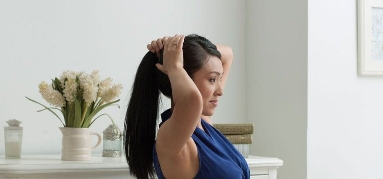 Hairstyles That Keep Damage Away In Loose Messy Ponytail Hairstyles For Dyed Hair (View 24 of 25)