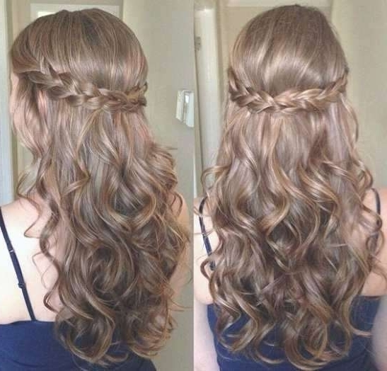 Hairstyles With Braids And Curls Braid Hairstyles Curly Braids And Within Braids With Curls Hairstyles (View 18 of 25)