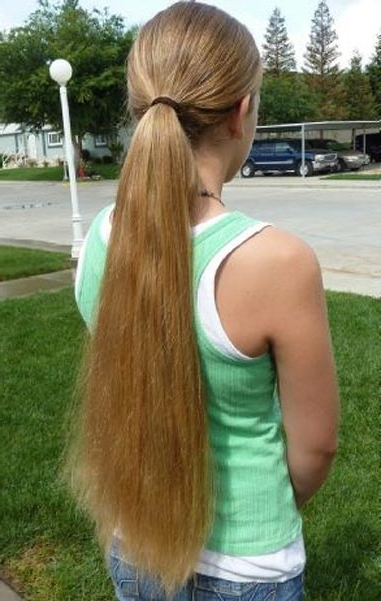 Hairxstatic: Braids & Ponies [Gallery 2 Of 2] For Waist Length Ponytail Hairstyles With Bangs (View 8 of 25)