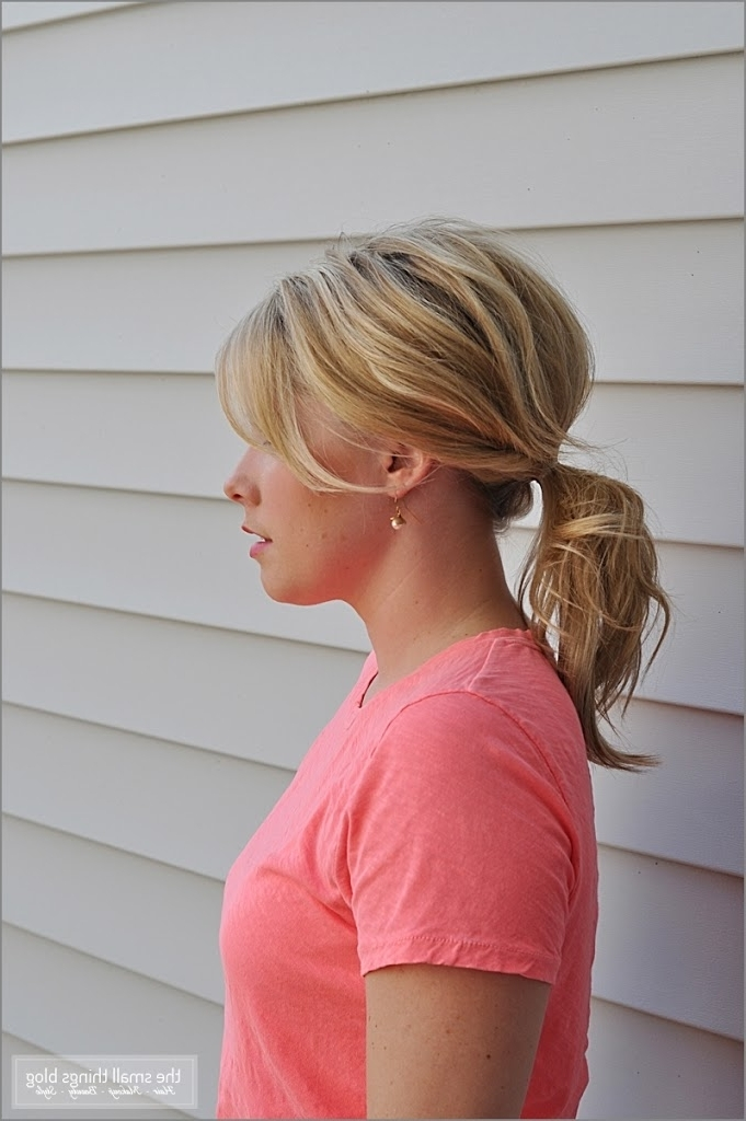 Half French Braid Ponytail – The Small Things Blog Intended For Half French Braid Ponytail Hairstyles (View 24 of 25)
