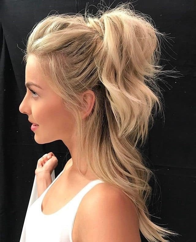 Half Ponytail: 22 Unique Ideas For 2018 – Hairstylecamp Pertaining To Casual Half Up Ponytail Hairstyles (View 4 of 25)
