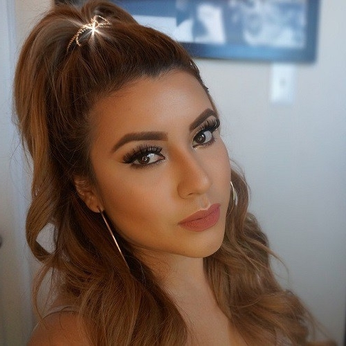 Half Ponytail Hairstyles For 2018 – New Hairstyles 2017 For Long Pertaining To Casual Half Up Ponytail Hairstyles (View 7 of 25)