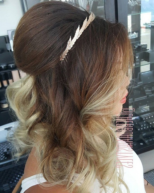 Half Ponytail Hairstyles For 2018 – New Hairstyles 2017 For Long Regarding Formal Half Ponytail Hairstyles (View 18 of 25)