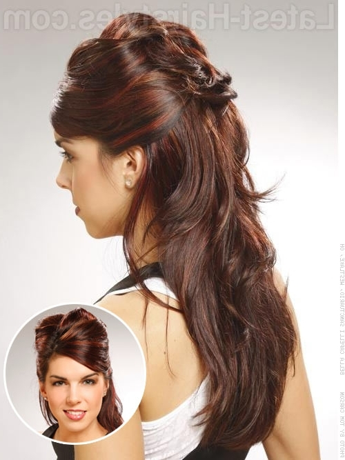 Half Up Half Down Prom Hairstyles – Pictures And How To's Regarding Formal Half Ponytail Hairstyles (View 21 of 25)