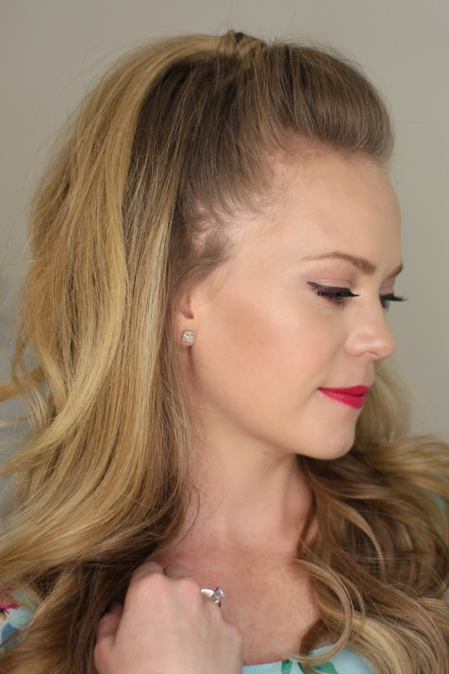 Half Up High Ponytail Intended For Half Ponytail Hairstyles (View 13 of 25)