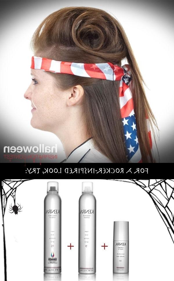 Halloween Hair Tutorial: Rockstar Style   Hair   Pinterest With Regard To Rockstar Fishtail Hairstyles (View 21 of 25)