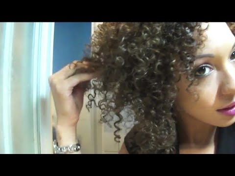 Henna Caca Brun On Blonde Curly Hair – Youtube In Lush And Curly Blonde Hairstyles (View 17 of 25)