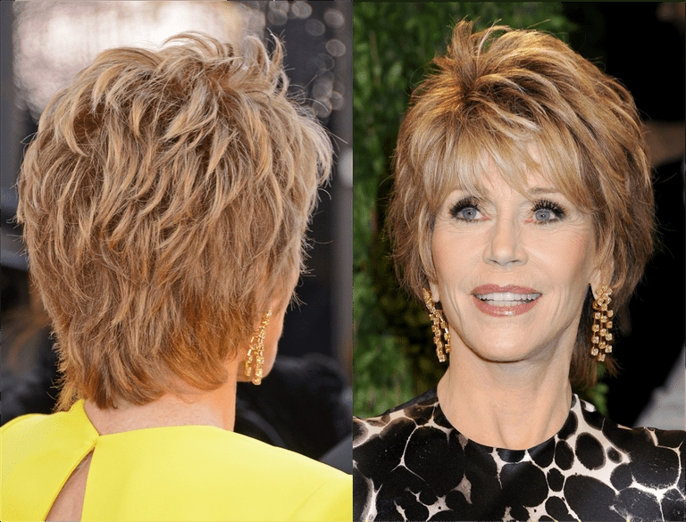 Here's A Plethora Of Haircuts That Look Great On Older Women Within Newest Cropped Tousled Waves And Side Bangs Hairstyles (View 19 of 25)