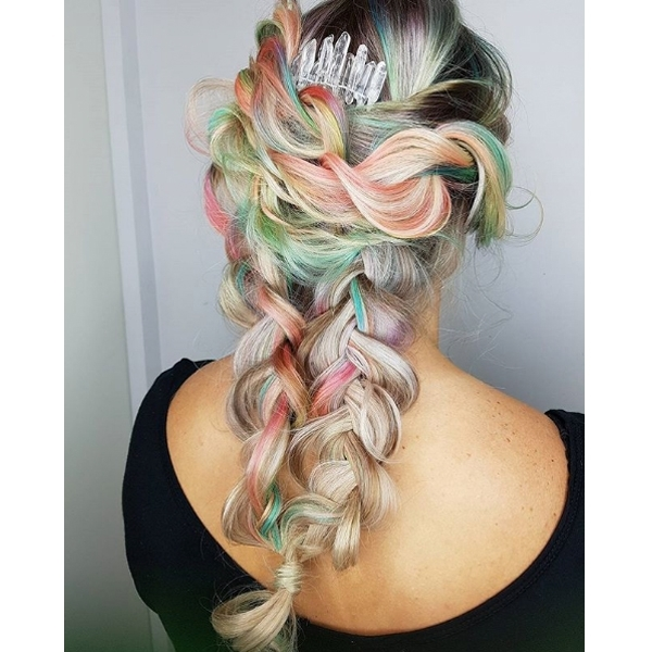 Here's How To Create A Versatile, Lived In Boho Braid Intended For Braided Boho Locks Pony Hairstyles (View 22 of 25)
