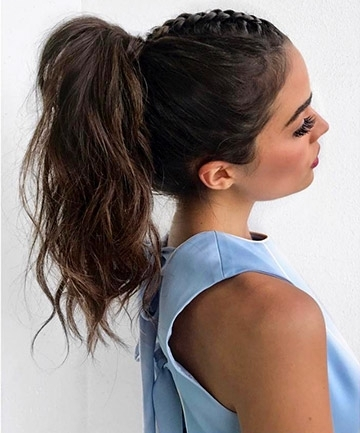 High Braided Ponytail, 16 Braided Ponytails Every Cool Girl Will Be In Pony Hairstyles With Textured Braid (View 22 of 25)