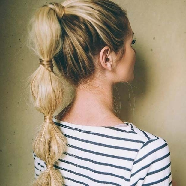 High Bubble Ponytail | Hairstyles | Pinterest | Bubble Ponytail With High Bubble Ponytail Hairstyles (View 19 of 25)