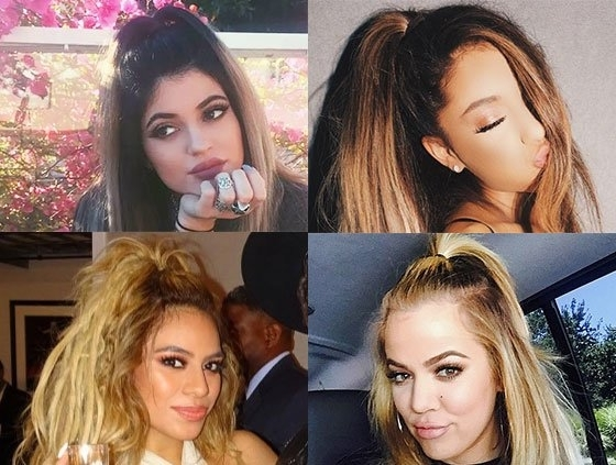 High Half Up Half Down Ponytail Hacks, Pony Tutorials With Regard To Half Up Curly Look Pony Hairstyles (View 5 of 25)