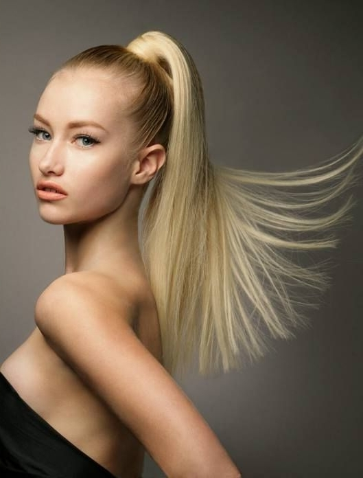 High Pony Tail! #hair #ponytail #highpony #beauty | Anushka Spa Throughout Hot High Rebellious Ponytail Hairstyles (View 8 of 25)