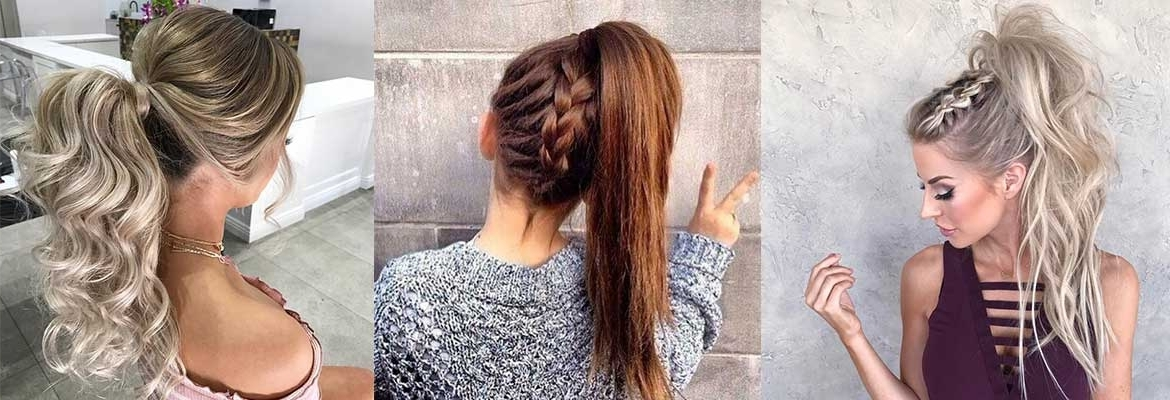 High Ponytail Hairstyles – How To Get The Look – Amr Within Full And Fluffy Blonde Ponytail Hairstyles (View 15 of 25)