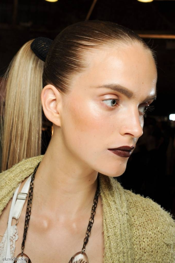 High & Tight: How To Style The Perfect High Ponytail Inside Bold And Blonde High Ponytail Hairstyles (View 19 of 25)