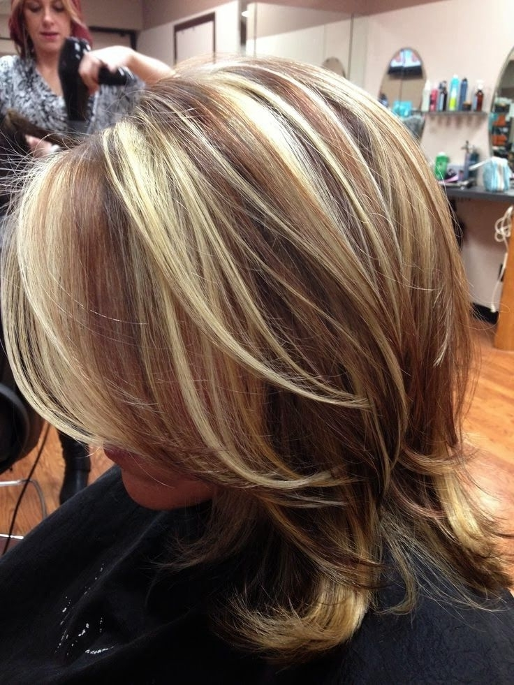 Highlights And Lowlights For Dark Blonde Hair | Highlights And Throughout Brown And Dark Blonde Layers Hairstyles (View 10 of 25)