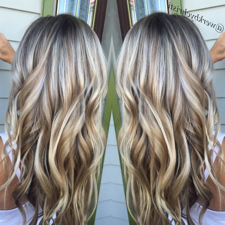 Highlights And Lowlights, Platinum Blonde. Honey Blonde (View 22 of 25)