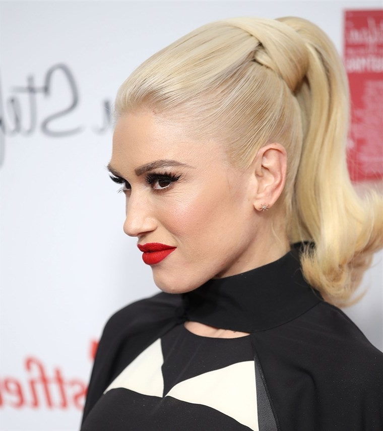 Holiday Hairstyle Ideas For Christmas Or New Year's Eve With Regard To Punky Ponytail Hairstyles (View 24 of 25)