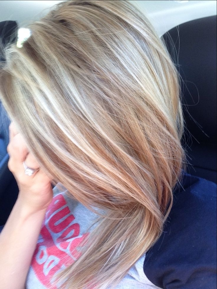 Honey/ash Blonde Highlights (View 10 of 25)