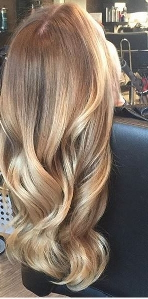 Honey Gold Blonde Highlights | Fair Hair | Pinterest | Gold Blonde Inside Dark Roots Blonde Hairstyles With Honey Highlights (View 20 of 25)