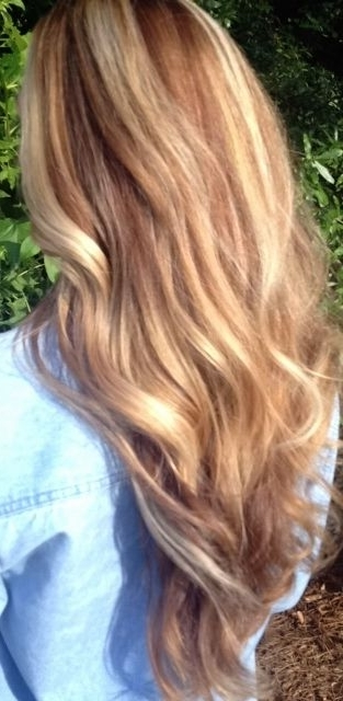 Honey / Golden / Warm / Brown / Blonde / Caramel / Balayage / Sun With Regard To Warm Blonde Curls Blonde Hairstyles (View 15 of 25)