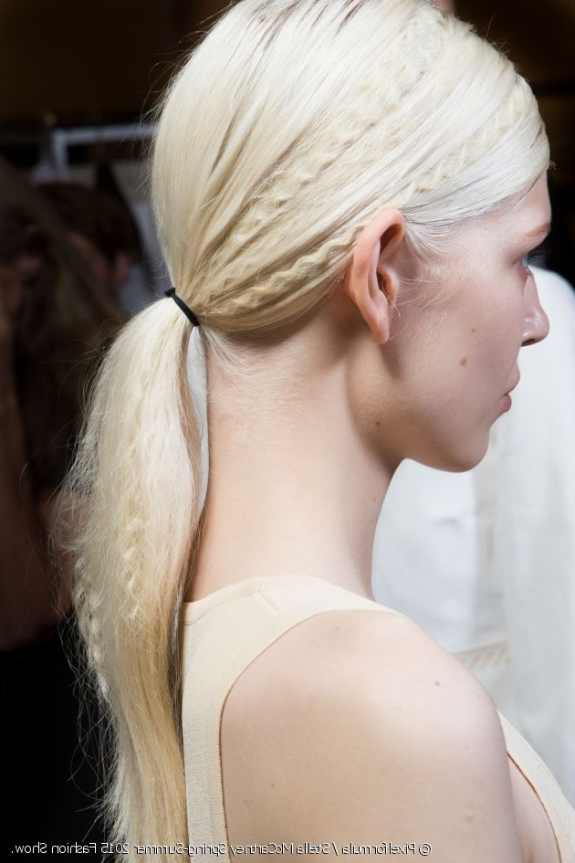 How Do You Do A Crimped Ponytail? For Crimped Pony Look Ponytail Hairstyles (View 7 of 25)