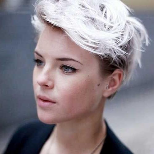 How To Bleach Wash Hair | Hair | Pinterest | Platinum Blonde Hair In White Blonde Hairstyles With Dark Undercut (View 2 of 25)