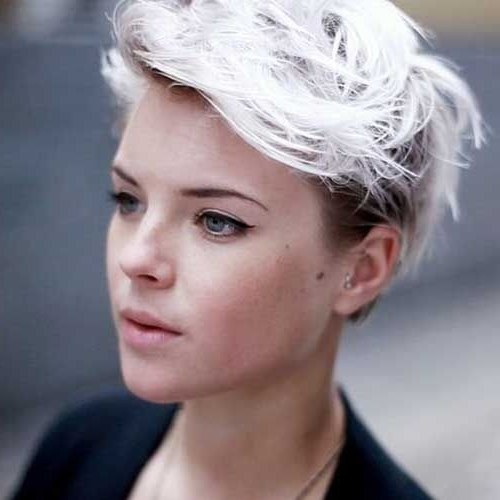 How To Bleach Wash Hair | Hair | Pinterest | Platinum Blonde Hair Throughout Most Current Bleach Blonde Pixie Hairstyles (View 7 of 25)