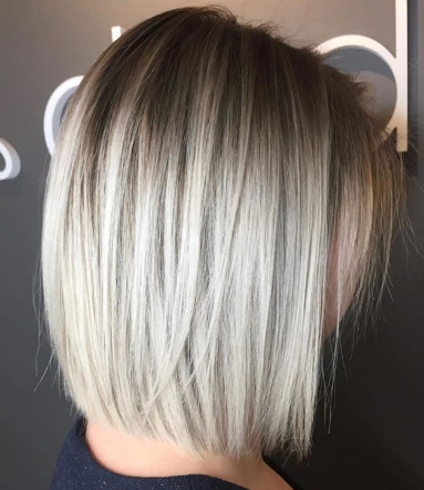 How To: Blunt Blonde Bob – Behindthechair For Rooty Long Bob Blonde Hairstyles (View 23 of 25)