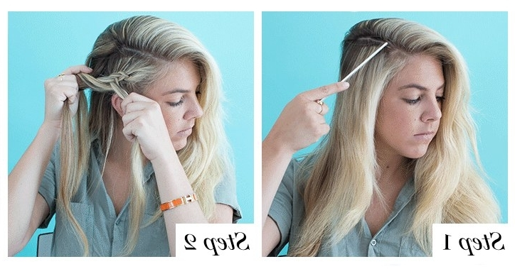 How To Braid Hair: 8 Cute Diy Hairstyles For Every Hair Type | Glamour Pertaining To Dyed Simple Ponytail Hairstyles For Second Day Hair (View 14 of 25)