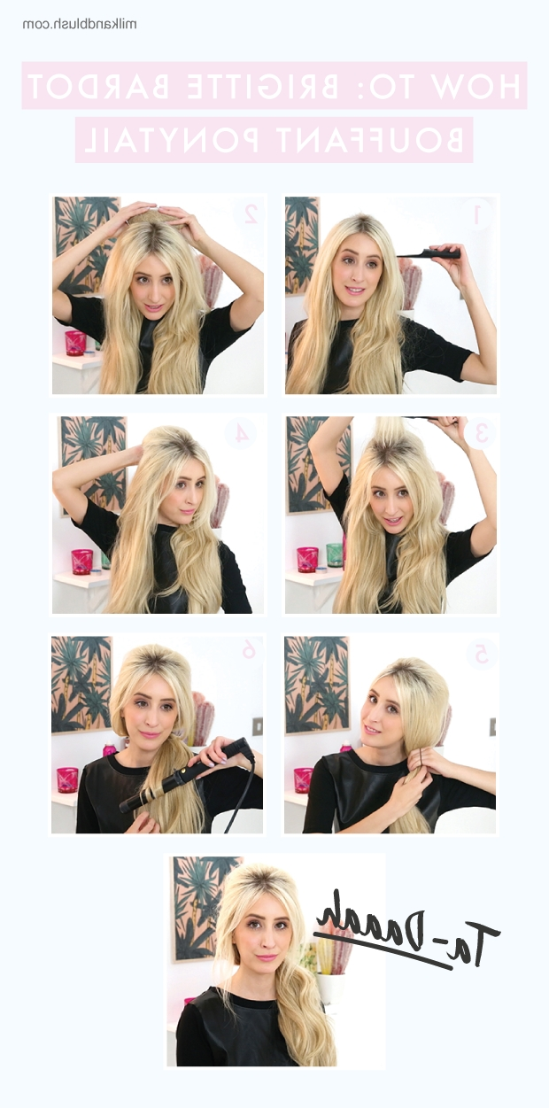 How To: Brigitte Bardot Bouffant Ponytail | Hair Extensions Blog Throughout Bardot Pony Hairstyles (View 24 of 25)