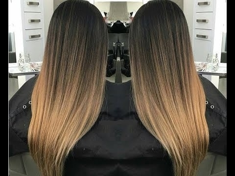 How To Color Melt Hair – Color Melt Hair Color Technique Inside Blonde Color Melt Hairstyles (View 17 of 25)