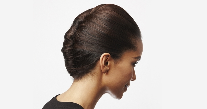 How To Create A Classic French Twist – L'oréal Paris Regarding Ponytail Hairstyles With A Braided Element (View 12 of 25)