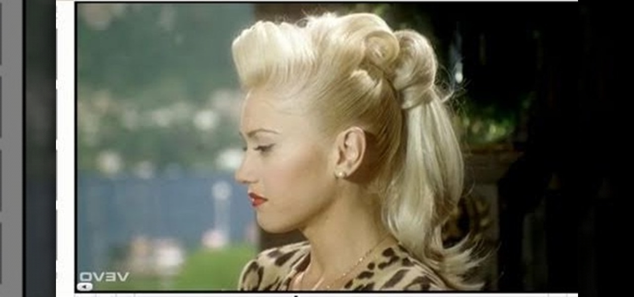 "How To Create Gwen Stefani's Retro Ponytail From ""cool Within Casual Retro Ponytail Hairstyles (View 18 of 25)"