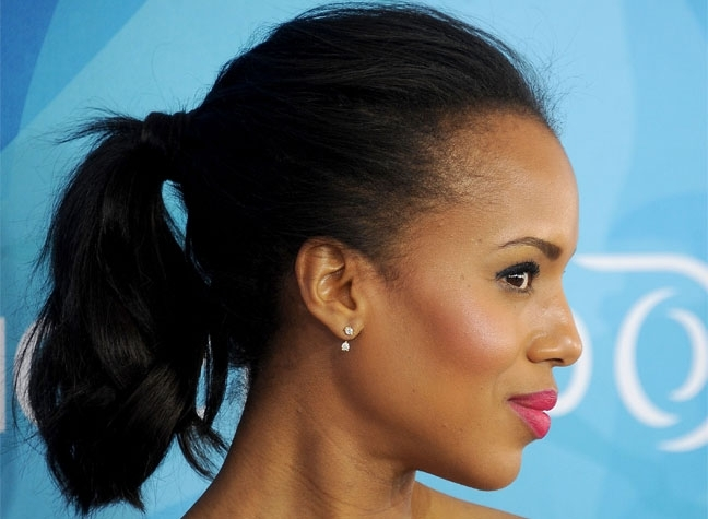 How To Create The Ultimate Grown Up Ponytail In Mature Poofy Ponytail Hairstyles (View 22 of 25)