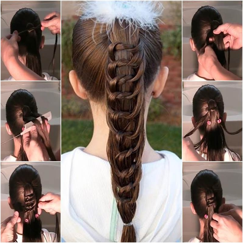 How To Diy Pretty Knotted Ponytail Hairstyle Intended For Knotted Ponytail Hairstyles (View 3 of 25)