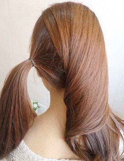 How To Diy Simple Twist Side Ponytail Hairstyle Inside Twisted Side Ponytail Hairstyles (View 21 of 25)