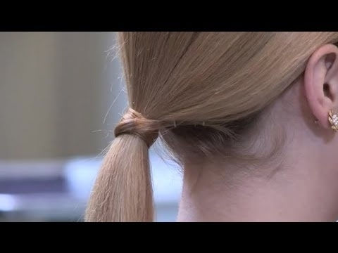 How To Do A Ponytail For Fine Hair : Hairstyle Trends – Youtube With Ponytail Hairstyles For Fine Hair (View 9 of 25)