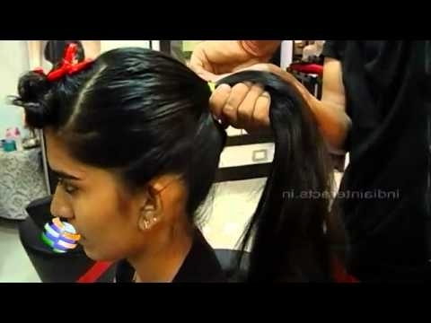 How To Do Ponytail With A Bump – Youtube In Poofy Ponytail Hairstyles With Bump (View 17 of 25)