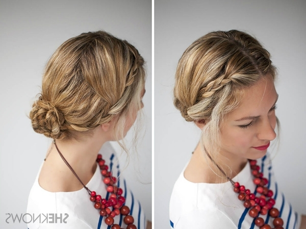 How To: Double Braid Hairstyle Tutorial Within Double Braided Hairstyles (View 3 of 25)
