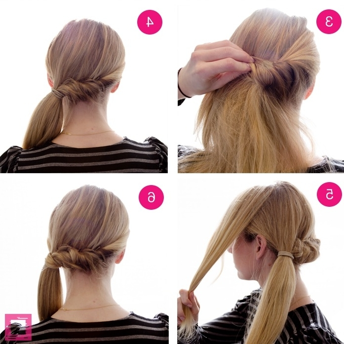 How To Get A Side Pony Roll And Twist | Stylecaster In Twisted Side Ponytail Hairstyles (View 2 of 25)